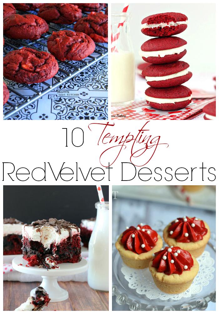10 Tempting Red Velvet Desserts