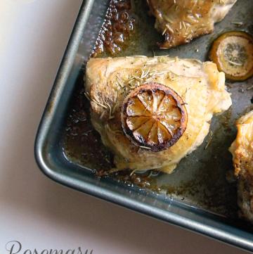 Rosemary Lemon Chicken | www.momstestkitchen.com | #lovehealthyme #wwsponsored
