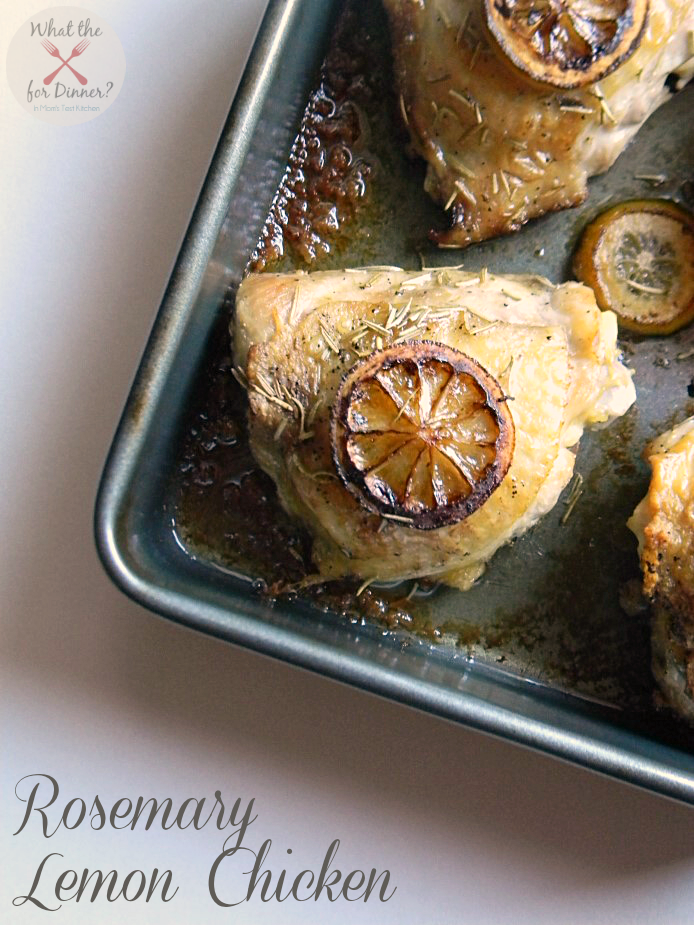 Rosemary Lemon Chicken | www.momstestkitchen.com | #lovehealthyme #wwsponsored