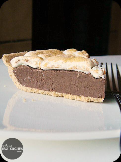 S'mores Fudge Pie   Mom's Test Kitchen