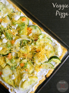 Veggie Pizza | Mom's Test Kitchen | #SecretRecipeClub