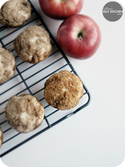 Apple Brown Sugar Cinnamon Muffins