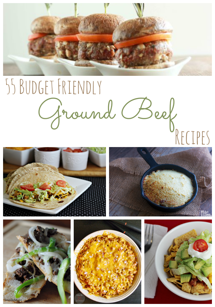 Budget Friendly Ground Beef Recipes