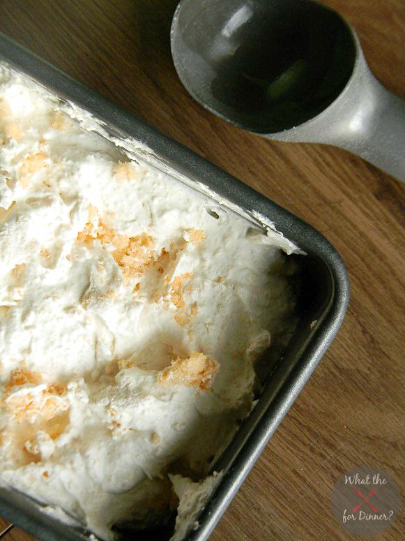 Skinny Creamsicle No Churn Ice Cream | momstestkitchen.com | #TENways #PMedia #ad