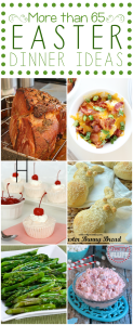 More than 65 EASTER DINNER IDEAS #easter