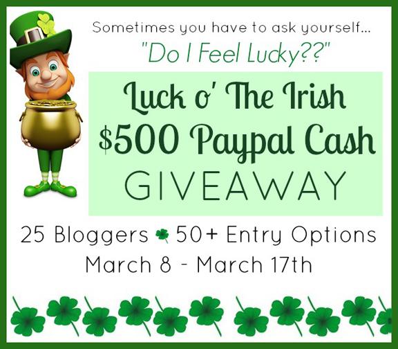 Luck o' The Irish Giveaway