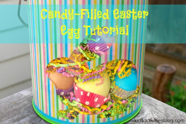 Candy Filled Easter Egg Tutorial