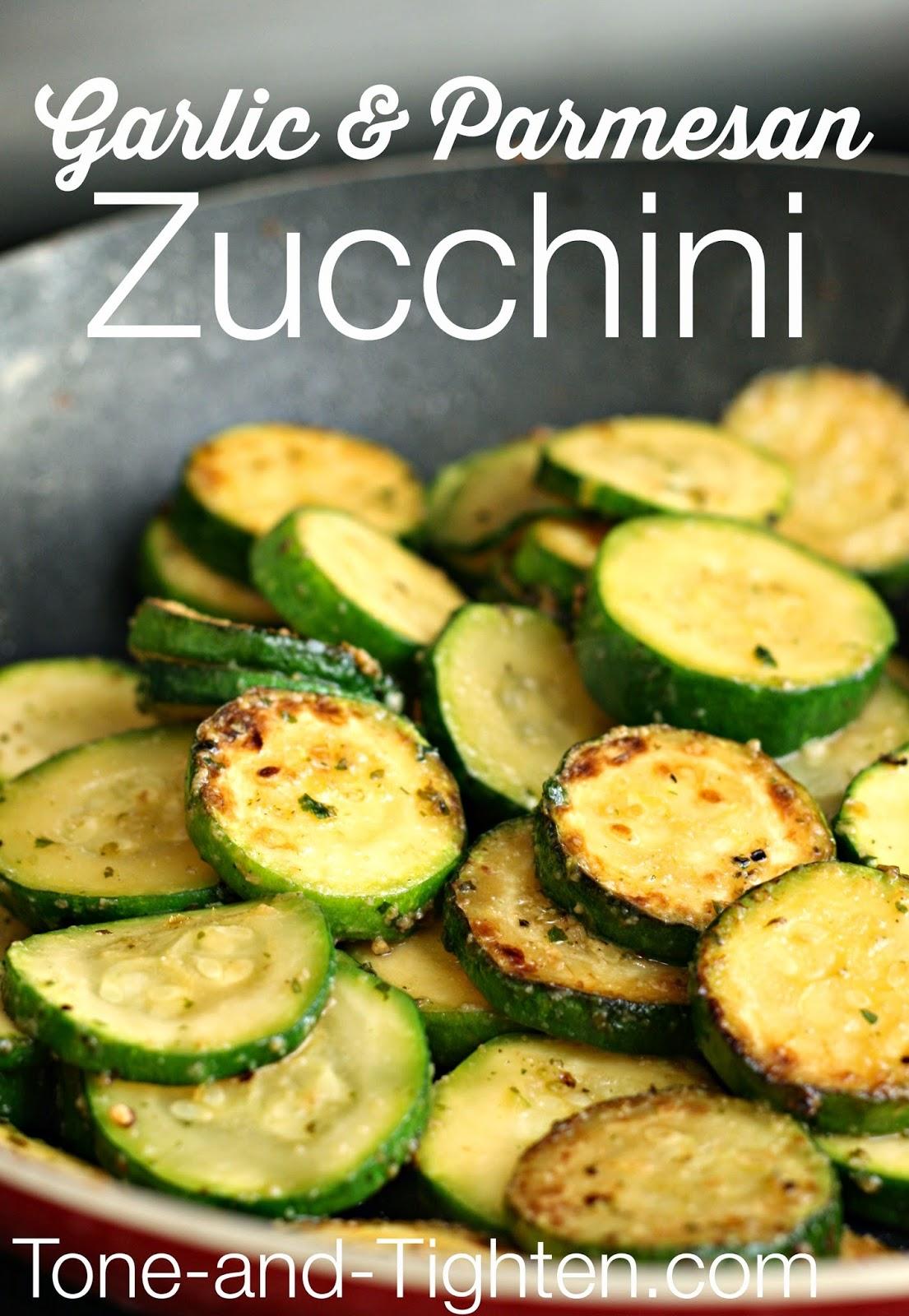 Garlic & Parmesan Zucchini