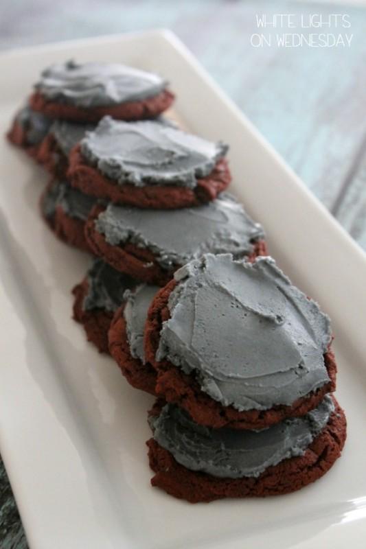 Not So Bleeding Armadillo Cookies