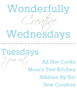 Wonderfully Creative Wednesdays