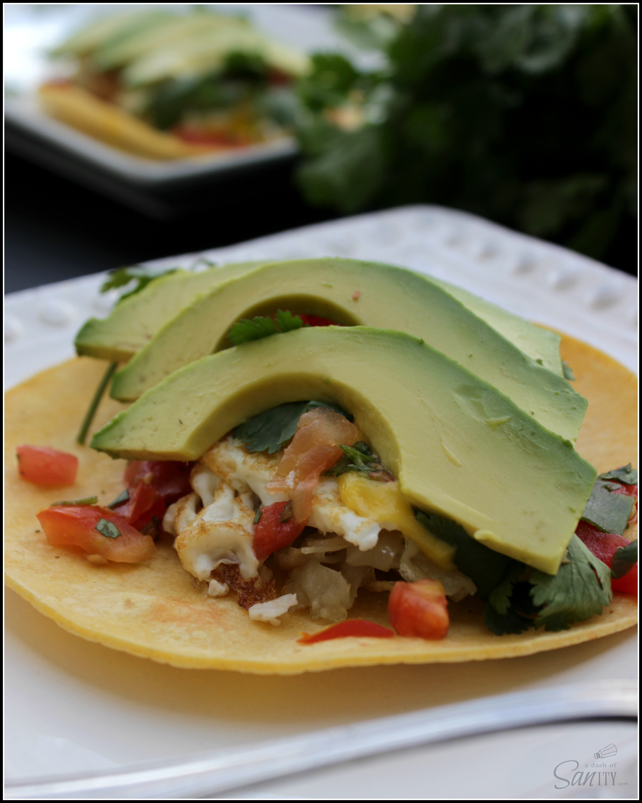 Breakfast Tacos with Roasted Habanero Hollandaise