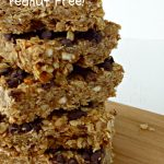 Chocolate Pretzel Granola Bars via Juggling Act Mama