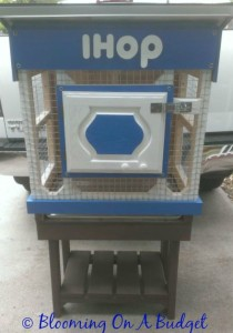 IHOP Themed Rabbit Hutch