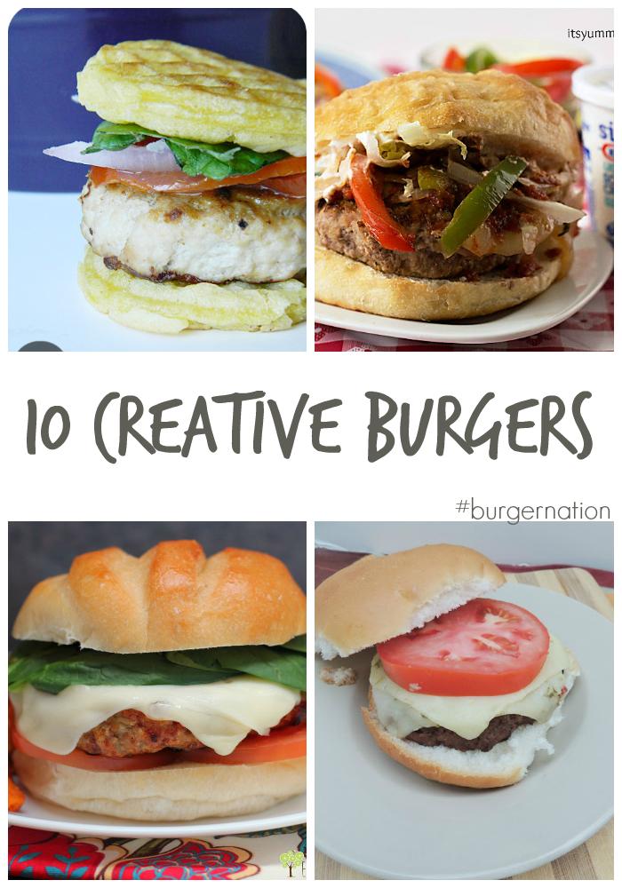 10 Not Your Backyard BBQ Burgers & a #BurgerNation Giveaway