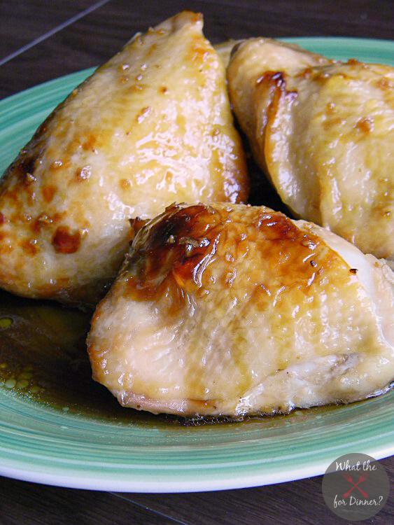 Candied Garlic Chicken | MomsTestKitchen.com | #SecretRecipeClub