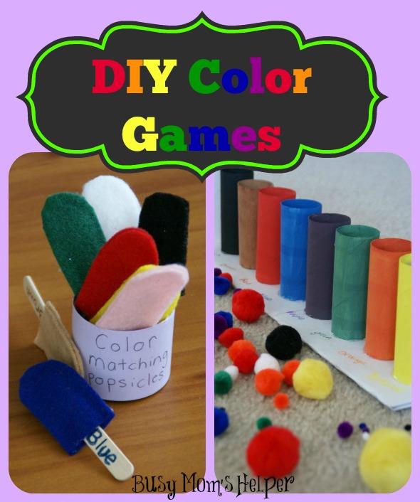 DIY Color Games