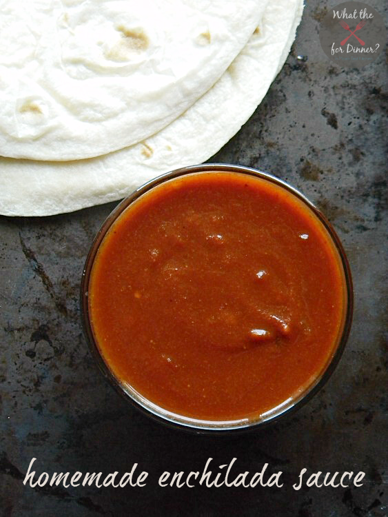 Homemade Enchilada Sauce | MomsTestKitchen.com