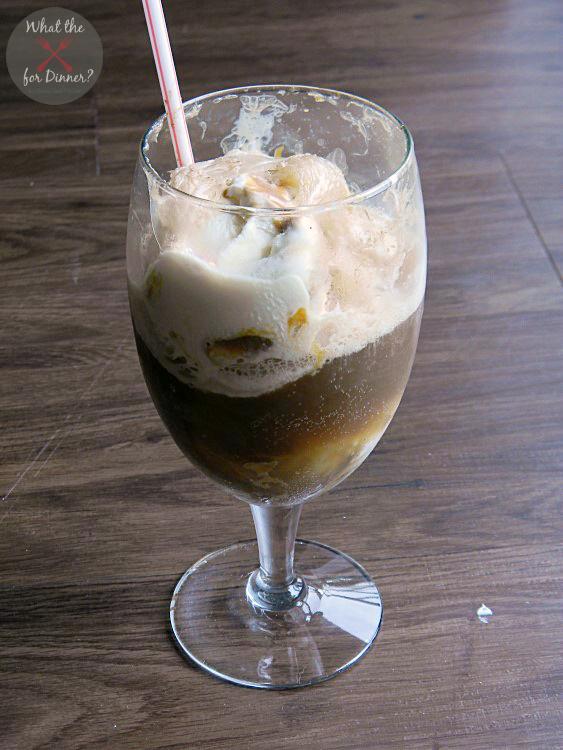 Vanilla Caramel Float | MomsTestKitchen.com | #GelatoLove #ad