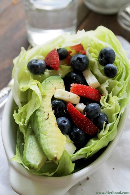 Very Berry Avocado Salad