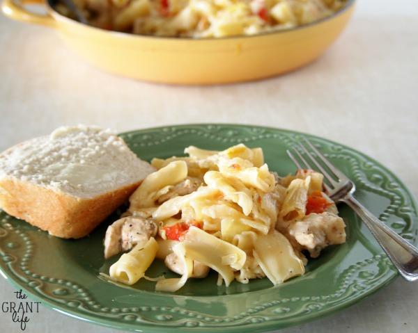 Cheesy Italian Skillet