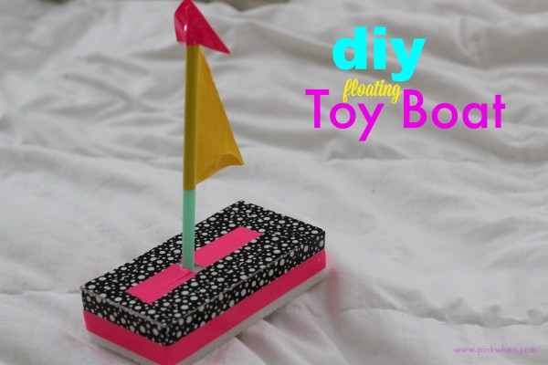 DIY Floating Toy Boat