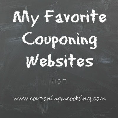 My Favorite Couponing Websites