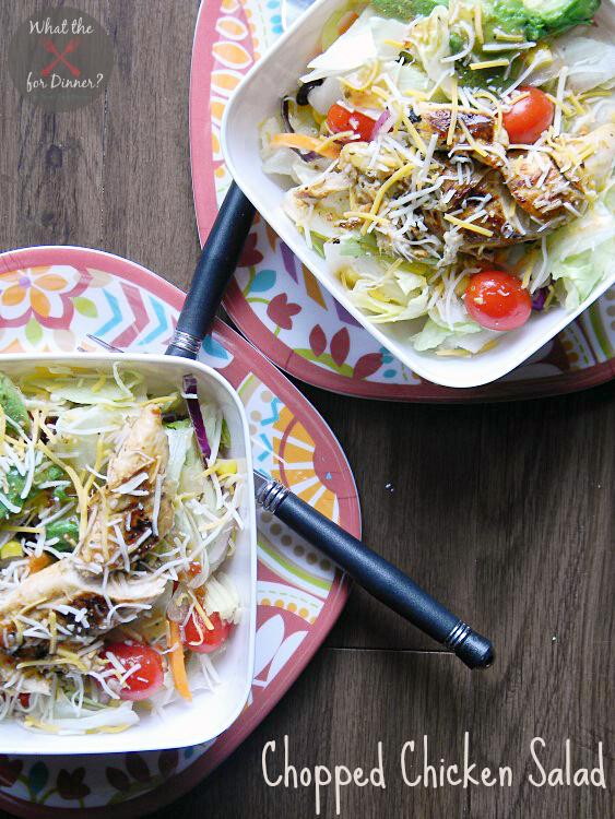 Chopped Chicken Salad   MomsTestKitchen.com   #ad