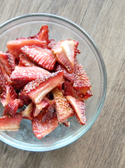 Homemade Strawberry Fruit Snacks | MomsTestKitchen.com