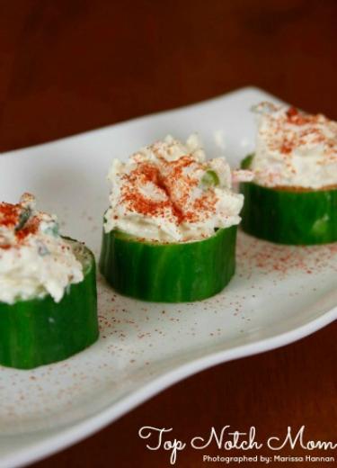Spicy Crab Cups | TopNotchMom.com