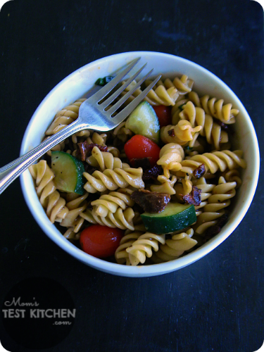 Peppered Bacon & Sweet Balsamic Pasta Salad
