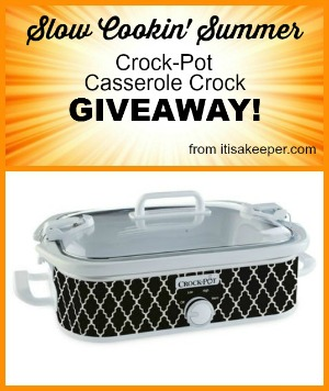 Slow Cookin' Summer Crock Pot Giveaway