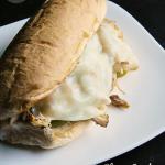 Slow Cooker Chicken Cheesesteaks | MomsTestKitchen.com | #SlowCookingSummer