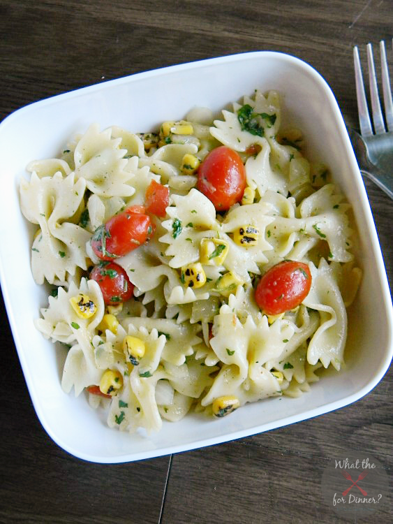 Southwest Pasta Salad with Cilantro Lime Vinaigrette | MomsTestKitchen ...