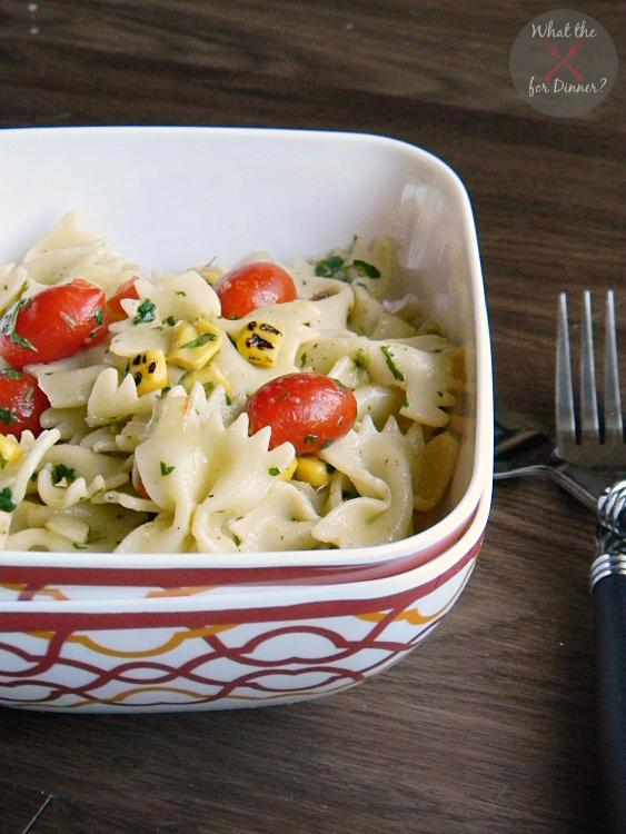 Southwest Pasta Salad with Cilantro Lime Vinaigrette | MomsTestKitchen.com