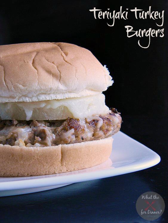Teriyaki Turkey Burgers | MomsTestKitchen.com | #SecretRecipeClub