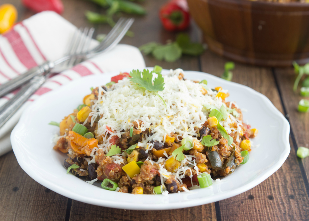 Slow Cooker Quinoa Tex Mex
