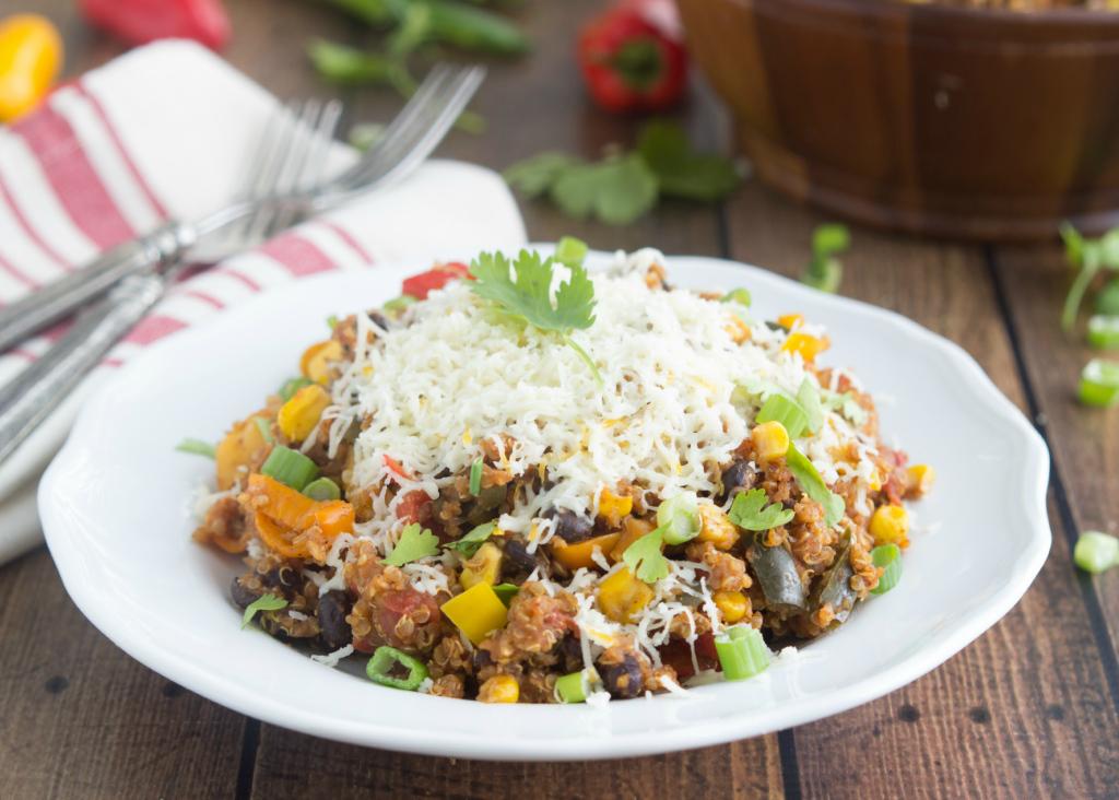 Slow Cooker Quinoa Tex Mex
