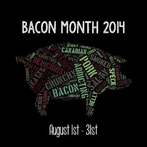 #BaconMonth