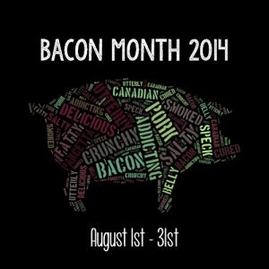 #BaconMonth 2014
