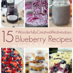 15 Blueberry Recipes | MomsTestKitchen.com | #WonderfullyCreativeWednesdays