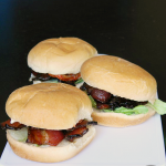 Candied BLT Sliders | MomsTestKitchen.com | #TEArifficPairs #shop