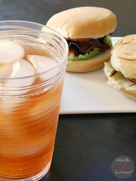 Candied BLT Sliders   MomsTestKitchen.com   #TEArifficPairs #shop