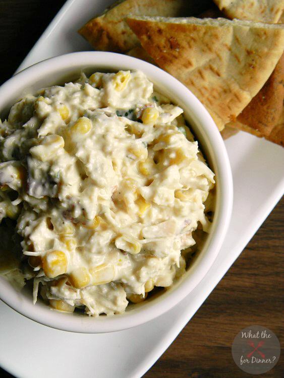 Bacon & Corn Chicken Salad | MomsTestKitchen.com | #PutSomePigInIt