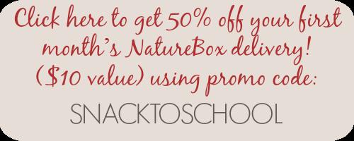 NatureBox Promo
