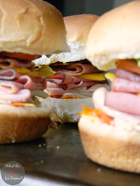 Dagwood Sliders | MomsTestKitchen.com | #OldWorldStyleOM #CleverGirls #sponsored