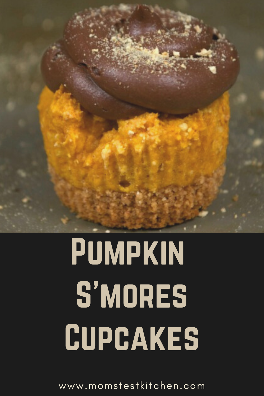 These Pumpkin S'mores Cupcakes combine everyone's favorite summertime treat with a classic Fall flavor for an easy and delicious dessert!