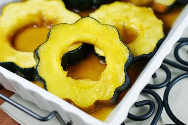 Baked Acorn Squash with Maple Glaze 10