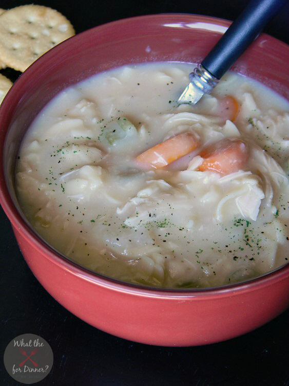 Veggie-Packed Chicken Noodle Soup