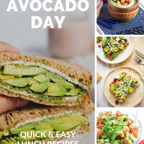 Avocado Lunch Recipes