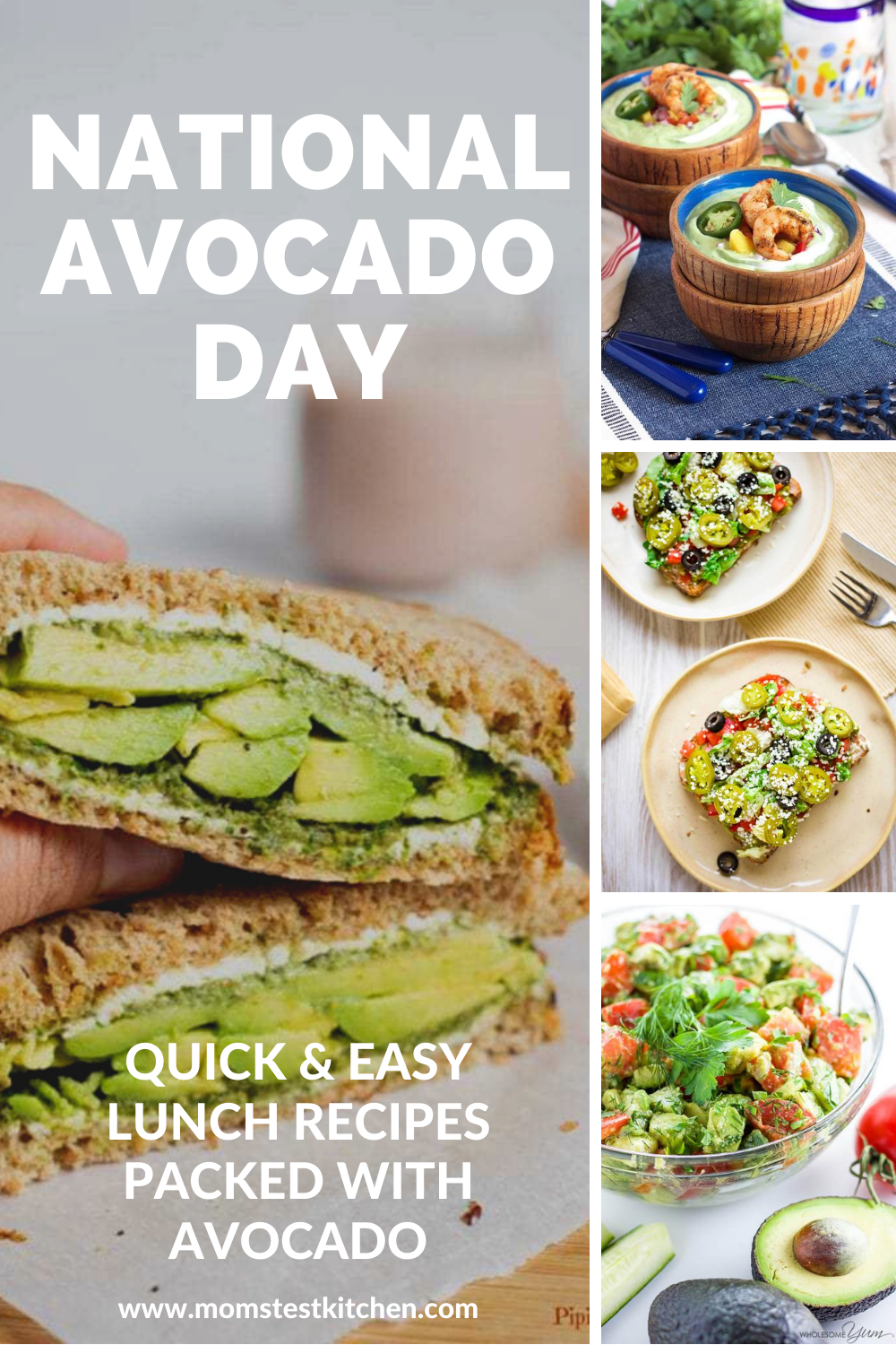 Celebrate National Avocado Day with any of these quick and easy lunch recipes packed with delicious avocado!